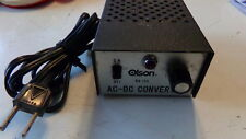 Olson BA-155 AC-DC Variable Voltage Vintage Converter SHIPS FREE!