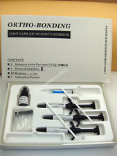 1 set Full package light cure adhesive,orthodontic bonding material for brackets