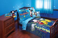 Disney Mickey Mouse Zero Gravity Toddler 4 Piece Bedding Set