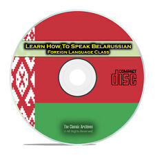 Learn How To Speak Belarussian Fast Easy Foreign Language Training Course CD G86