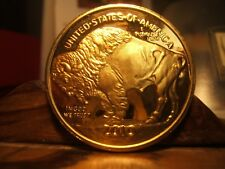 INDIANS & COWBOYS - Bt Masterson - Chief Joseph - CRAZY HORSE-BUFFALO Medals (3)