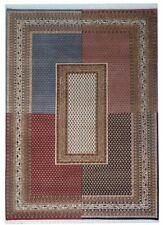 Sarough Moi Inde 200x300 Tissé Main Nouvelle-Zélande Laine Tapis Oriental Carpet