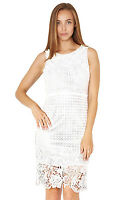 CAROLINE MORGAN WHITE LACE DRESS - VARIOUS SIZES
