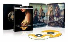Brand New! Wonder Woman Steelbook Edition (4K UHD Blu-Ray + Blu-Ray + Digital)