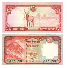 NEPAL 20 Rupees Banknote (2008) P-62 Paper Money UNC