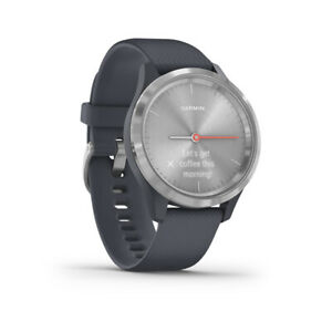 Garmin vivomove 3S Watch Silver Wristband: Silver - Silicone