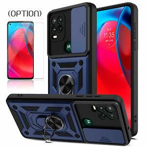 For Motorola Moto G Stylus 5G 2021 Shockproof Camera Slide Protection Case Cover