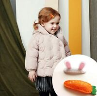 Cute Baby Girls Kid Carrot BB Rabbit Ear Hair Clip Hairpin Barrette Hairwear Lot