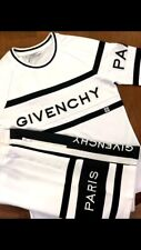 GIVENCHY PARIS completo maglia e shorts nuovi con etichette taglie M e L