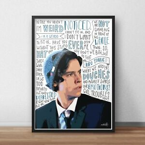 Cole Sprouse Poster / Print / Wall Art A4 A3 / Riverdale Actor / Five Feet Apart