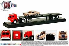 1:64 M2 Machines AUTO-HAULERS R15B = 1964 Ford C-950 Semi w/1966 Shelby GT350H