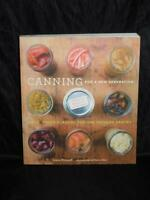 Modern Canning Cookbook Pickle Dried Frozen Food Guide Book Recipes Jams Jelly