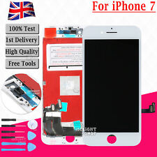 """For Apple iPhone 7 4.7"""" White LCD Touch Screen Digitizer Display Assembly Frame"""