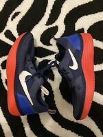Nike SOLARSOFT Shoes Midnight Navy White Royal Red 631409-414 Men's Size 6