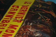 le dernier monde cannibale ruggero deodato not cannibal holacaust large 46x62ins