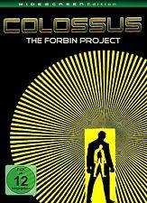 COLOSSUS - THE FORBIN PROJECT Susan Clark ERIK BRAEDEN remastered DVD Neu