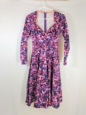 Pinup Couture Women's Sweetheart Neckline Floral Dress Size  XS