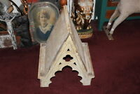 Antique Wood Cupola Religious Look Country Decor Architectural Aged Worn Wood