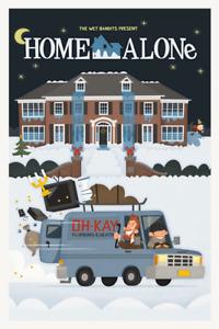 1990 Home Alone Wet Bandits > McCaulay Culkin > Mini Movie Poster Print 🎄🎅🎄