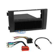 Car Radio Stereo One Din Dash Kit Bose Symphony Harness for 2000-up Audi A6 S6