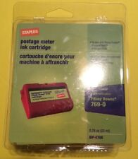NEW Staples SIP-E700 Postage Meter Ink Cartridge E707 FITS PITNEY BOWES 769-0