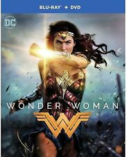 Wonder Woman 2017 - Brand New Sealed (Blu-Ray+DVD) - Free Fast Shipping