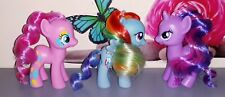 LOT MY LITTLE PONY MON PETIT PONEY G4 RAINBOW DASH TWILIGHT SPARKLE PINKIE PIE