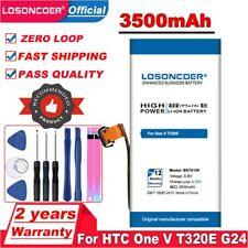 3500mAh BK76100 Battery For HTC One V T320e G24 Primo Battery Li-ion Polymer