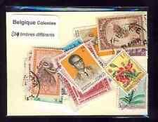 Belgique - Belgium colonies 100 timbres différents