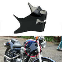 ABS Black Boby Frame Neck Cover Cowl  For Honda shadow 1988-2007