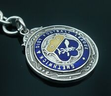 Silver Enamel Pocketwatch Fob Medal Smethick & Dist Football League 1921-22