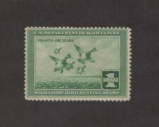 RW4 - Federal Duck Stamp.  MNH. OG.  #02 RW4mnhc