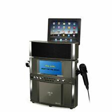 Akai Cd G Bluetooth Karaoke System With 7 Tft Tablet Cradle 846933000164