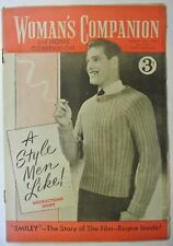 Woman's Companion Magazine . August 18th, 1956. No. 1,503. A Style Men like!