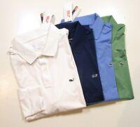 Vineyard Vines Performance Men's Solid Stretch Slim Fit Long Sleeve Polo Shirt