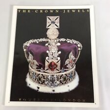 The Crown Jewels Tower of London Brigadier Kenneth Mears Softcover Book 1990