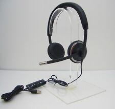 Plantronics Blackwire C520-M Binaural Over-the-Head USB Headset TESTED WORKING