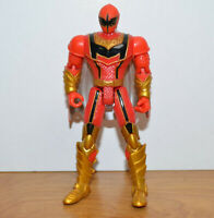 "POWER RANGERS MYSTIC FORCE RED RANGER Action Figure 2005 Bandai 5.5"" MMPR"