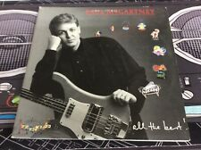 Paul McCartney - All The Best! Capitol 2×LP CLW-48287 Tested! Works!