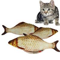 Cat Toy Fish Scratching Post Plush Stuffed Catnip Scratch Board Pet Supplies Dog