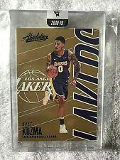 2018-19 Absolute Memorabilia Encased Gold Kyle Kuzma /10