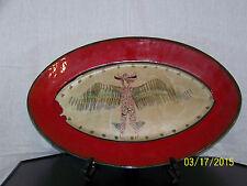 *Gilbert Portanier*Listed Master Ceramist Mid Century French Art Pottery Platter