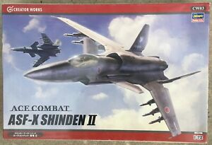 ASF-X Shinden II, Ace Combat, CREATOR WORKS/HASEGAWA 1/72