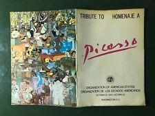 Pablo Picasso RARE 1973 O.A.S Tribute - - books - - photographs