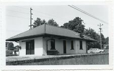 5G205 RP 1960s BASKING RIDGE NJ RAILROAD TRAIN STATION