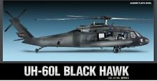 Modello KIT ACADEMY 12111 1/35 SCALE PLASTIC MODEL KIT UH-60L BLACK HAWK NUOVO