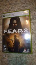 Fear 2: Project Origin (Microsoft Xbox 360, 2009) *****LN*****COMPLETE*****