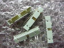 3M 2530-6003UG Connector 30-Pin Gold 2-Row Header Shrouded New 4/PKG