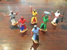 Timpo Arabs x 6 - Complete Set - Desert Warriors/ Fighters - Sahara - 1970's
