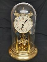 "Vintage Koma Quartz Dome Clock 11"""